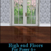 High End Floor Materials for Poser 3D Figure Essentials Khory_D