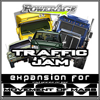 M.O.M Traffic Jam 3D Models powerage