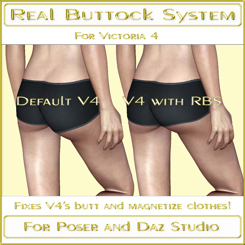 Real Buttock System V4