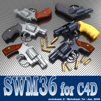 SWM36 for C4D 3D Models motokamishii