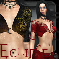 Eclipse for Crescent Moon Themed Clothing kaleya