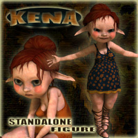 Kena Stand Alone Figures Themed Props/Scenes/Architecture Nursoda