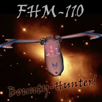 FHM-110 Bounty Hunter Spacecraft Props/Scenes/Architecture Transportation Themed 3-d-c