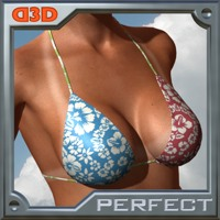 D3D Perfect Tan Line - V3/S3/A3 et al. 3D Figure Assets 2D Graphics Dimension3D