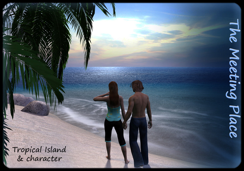 The Meeting Place- Tropical Island & Character