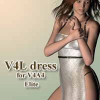 V4L dress for V4A4 3D Figure Essentials kobamax