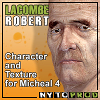 Lacombe for M4 3D Figure Essentials Nytoprod