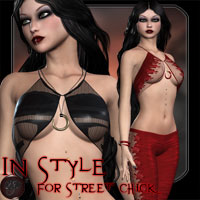In Style for Street Chick 3D Models 3D Figure Essentials kaleya