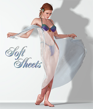 Soft Sheets 1 3D Figure Essentials 3D Models SaintFox