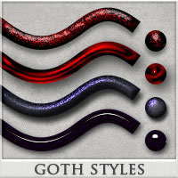 DW - Goth Styles for Photoshop 2D Graphics DreamWarrior