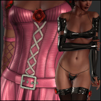 Wind of Yesim Bundle for Victoria 4.2 + <br>Bonus (62 Camera) 3D Figure Essentials jasmina