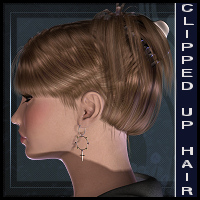 Clipped Up Hair V4, A4, G4, Kali, Kena Hair RPublishing