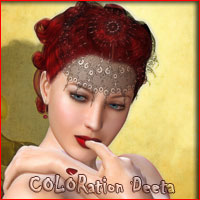 COLORation Deeta Hair ArtOfDreams