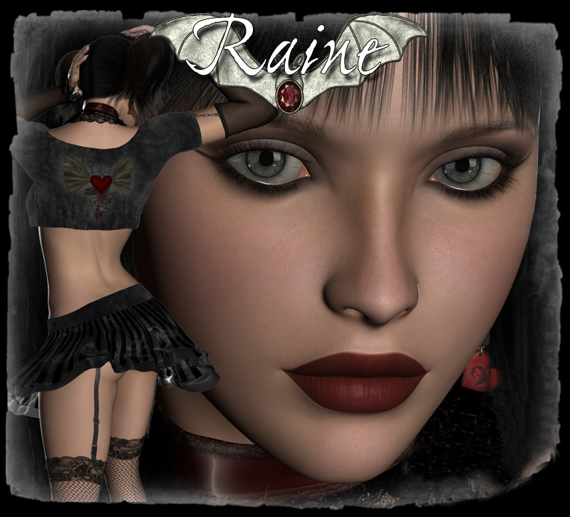 Raine Gothic V4 Character & Clothes
