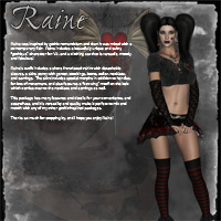Raine Gothic V4 Character & Clothes image 1