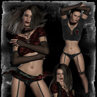 Raine Gothic V4 Character & Clothes image 3