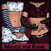 Malice for Raine 3D Figure Assets 3D Models Silver