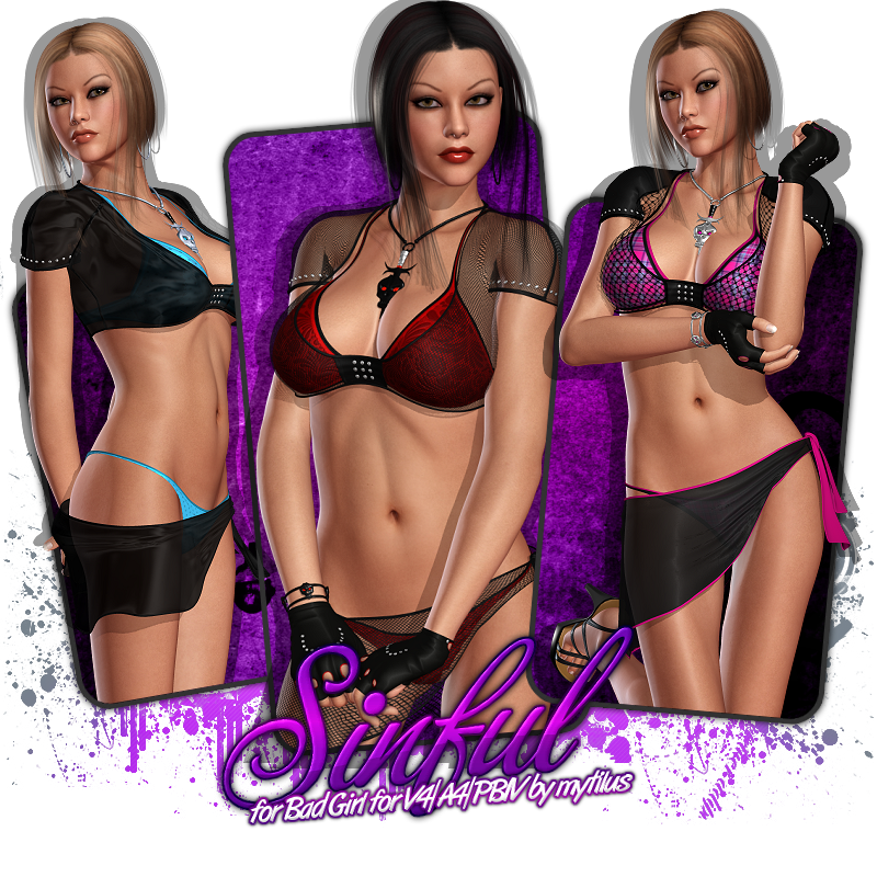 Sinful for Bad Girl V4/A4/PBIV