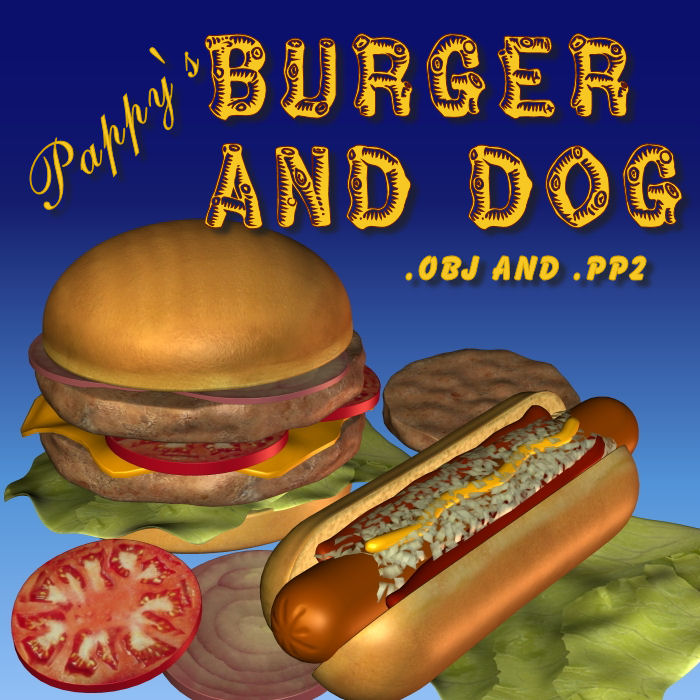 Burger And Dog