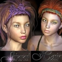 Jinni Hair by goldtassel
