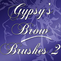 Gypsy's Brow Brushes 2 2D Graphics gypsyangel