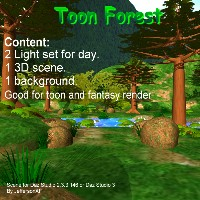 Toon Forest by JeffersonAF
