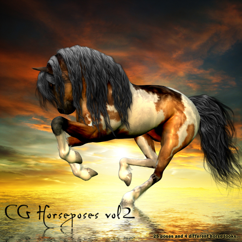 CG Horse Poses 2