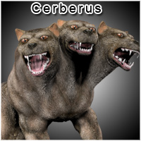 Myths & Legends: Cerberus Stand Alone Figures Themed sixus1