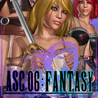 ASC 06: Fantasy 3D Figure Essentials 3D Models ShanasSoulmate