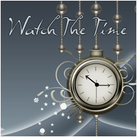 Watch The Time 2D Graphics Makena