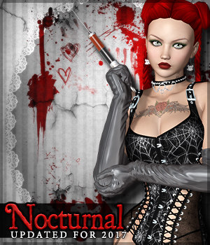 Nocturnal 2D Graphics Sveva