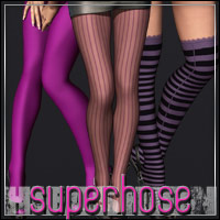 HIGHFASHION Essentials: SuperHose for V4/A4/G4 3D Models 3D Figure Assets outoftouch
