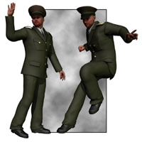 Dress Uniform (M4) 3D Figure Assets 3D Models VanishingPoint