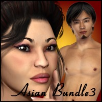 Asian Bundle III Characters Clothing Subgraphick