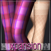 HIGHFASHION Essentials: SuperHose XPansion 3D Figure Assets outoftouch