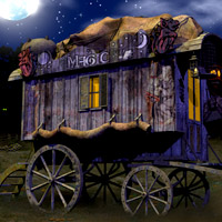 The Wizard's Wagon 3D Models LukeA