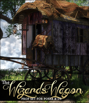 The Wizard's Wagon 3D Models Sveva