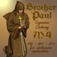 Brother Paul 3D Models pappy411