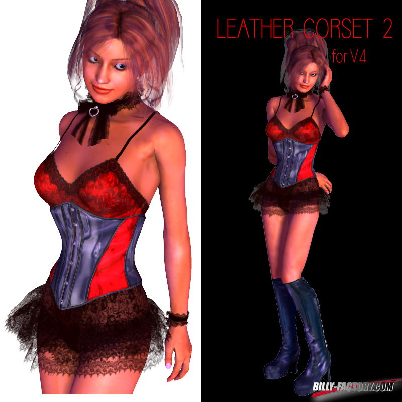 V4 Leather Corset 2