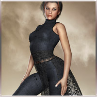 Maestroso Outfit For V4/A4/Elite Themed Clothing Software prae