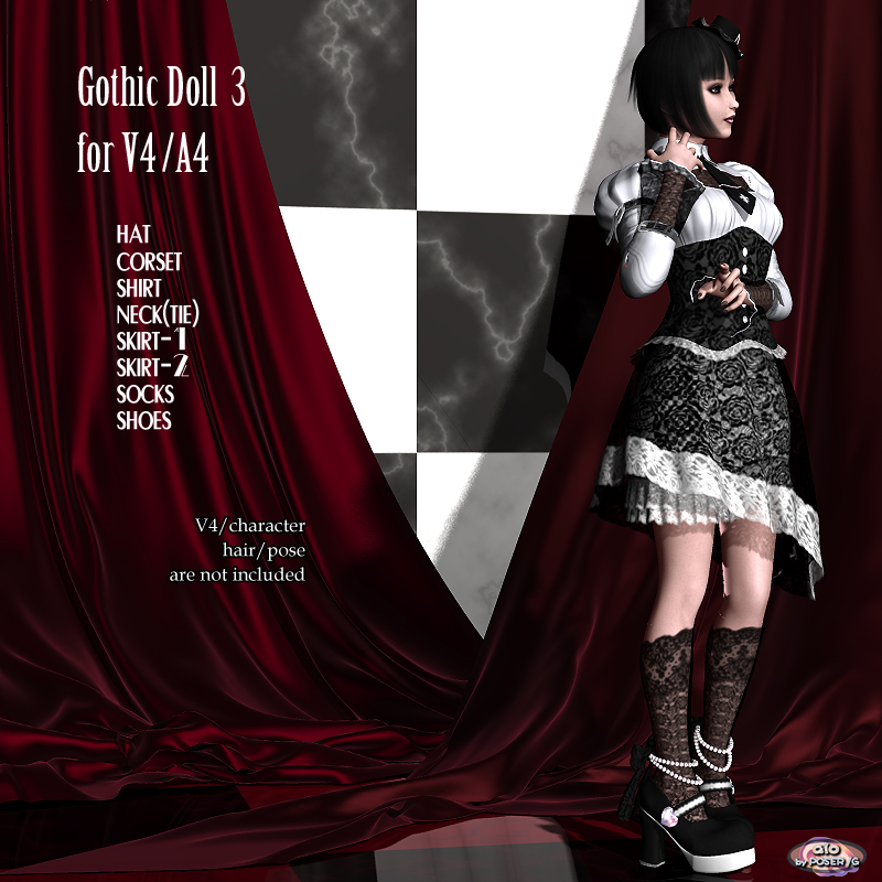 Gothic Doll3 for V4/A4