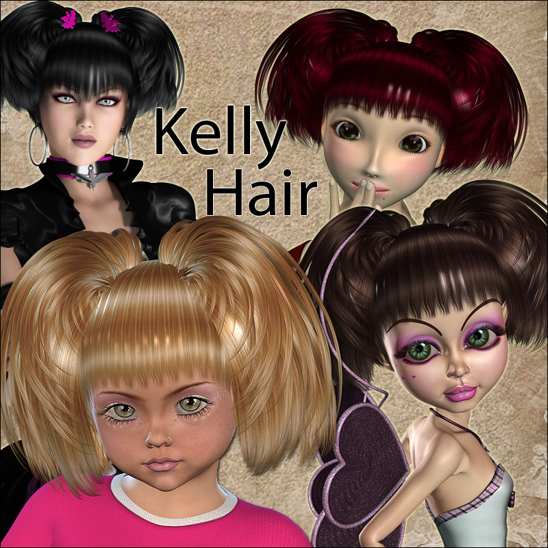 Kelly Hair V4A4G4K4, Mavka & Natu