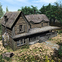 The Old Farm House 3D Models Tablesaw
