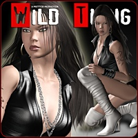 Wild Thing 3D Models 3D Figure Assets Pretty3D
