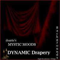 doarte's   MYSTIC MOODS - DYNAMIC DRAPES 2D And/Or Merchant Resources doarte