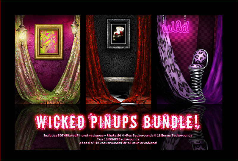 Wicked Pinups Bundle!