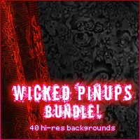 Wicked Pinups Bundle! 2D And/Or Merchant Resources Sveva