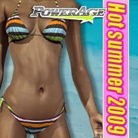 Hot summer 2009 3D Figure Assets powerage