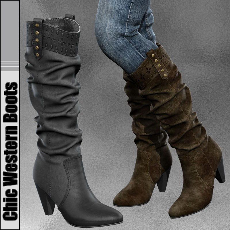 Chic Western Boots
