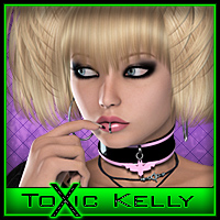 ToXic Kelly Hair Silver